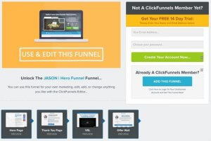 Clickfunnels Website, Divine