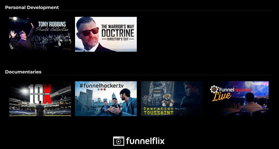 FunnelFlix Preview